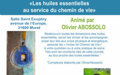 Dimanche 2 avril 2017 – Les Huiles Essentielles au service du chemin de Vie. Olivier Abossolo