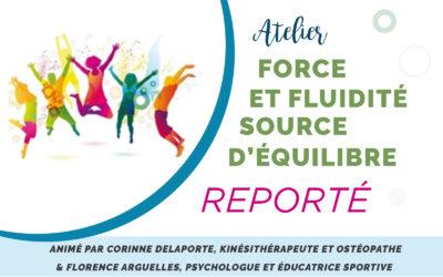Atelier Prévention Santé : Force et Fluidité – Source d'équilibre