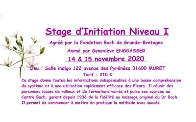 Stage d'Initiation Niveau I Fleurs de Bach